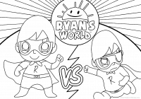 Free Printable Coloring Pages For Kids And Adults Printable Ryan Toy Coloring Pages