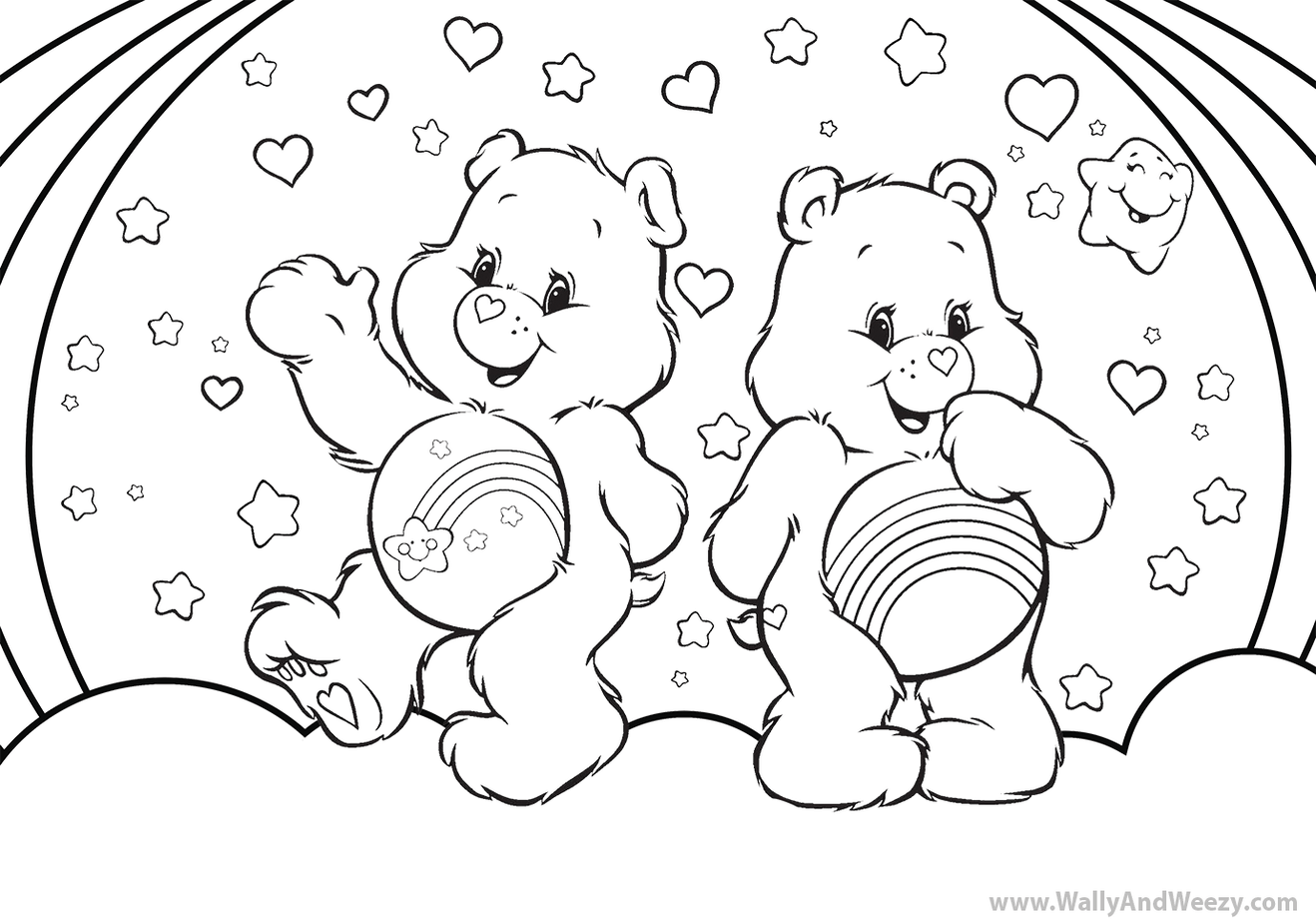 carebears-coloring-page