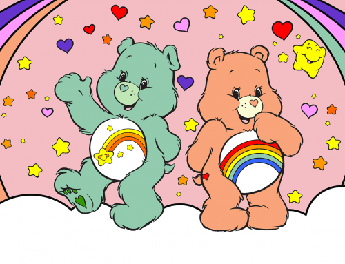 Care Bears Coloring Page for Kids